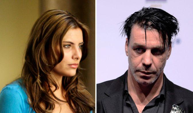 Simone Thomalla und Till Lindemann (Foto)