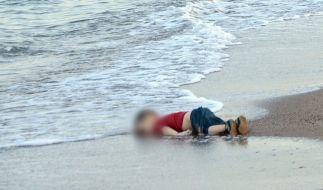 Sinnbild der Flüchtlingskrise 2015: Der kleine Aylan. (Foto)