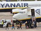 Sitzstreik Ryanair (Foto)