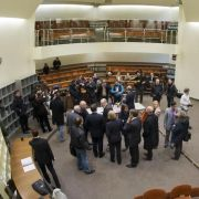 Sitzungssaal 101 des Oberlandesgerichtes München: Der Auftakt im NSU-Prozess ist drei Wochen später.