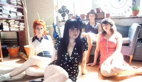 Sixties-Pop von Frankie Rose And The Outs (Foto)