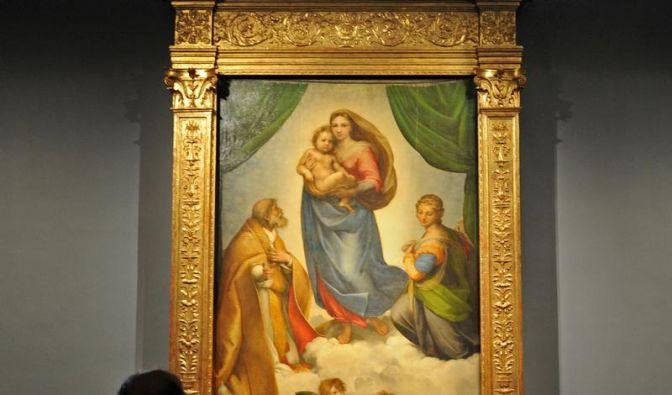 «Sixtinische Madonna» im Rampenlicht (Foto)