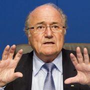 Skandalerprobter Überlebenskämpfer: Fifa-Boss Sepp Blatter.