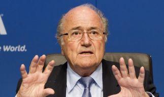 Skandalerprobter Überlebenskämpfer: Fifa-Boss Sepp Blatter. (Foto)