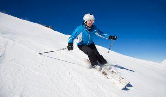 Skifahren ist derzeit nur in den Alpen möglich. (Foto)