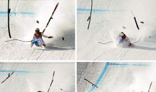 Skirennfahrer Albrecht ins Koma versetzt (Foto)