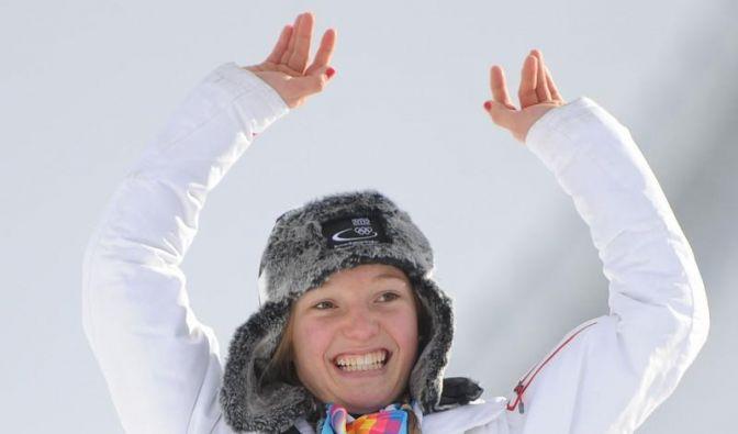 Skispringerin Althaus Zweite - Gold für Marokko (Foto)