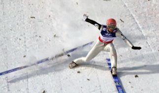 Skisprung-Welt applaudiert einbeinigem «Surfer» Fettner (Foto)