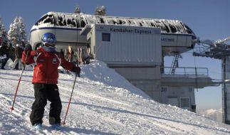 Skiurlaub mit der Familie (Foto)