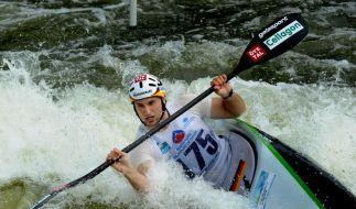 Slalom-Kanuten ermitteln Olympia-Starter (Foto)
