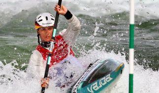 Slalom-Kanuten für Olympia gerüstet (Foto)