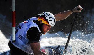 Slalom-Kanuten vor Olympia-Ausscheidungsrennen unter Druck (Foto)