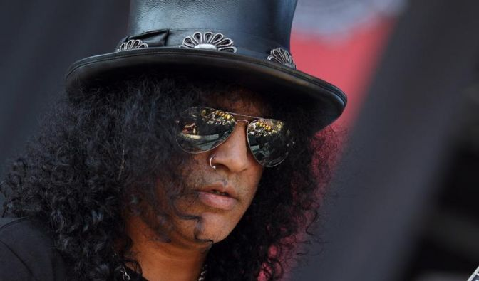 Slash und Robbie Williams gute Nachbarn in Los Angeles (Foto)