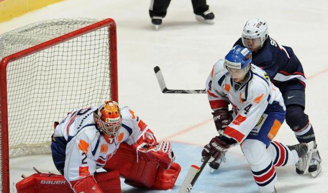 Slowakei gewinnt Deutschland-Cup-Auftakt (Foto)