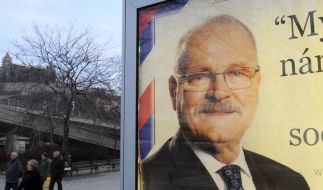 Slowaken wählen Staatsoberhaupt (Foto)