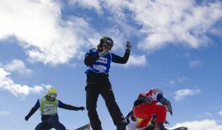 Snowboard: Crosser Schad Zehnter in Valmalenco (Foto)