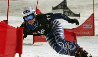 Snowboard: Kober fährt vierten Podestplatz ein (Foto)