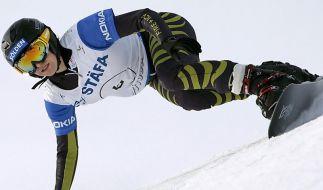 Snowboarderin Kober nach Verletzung auf Rang vier (Foto)