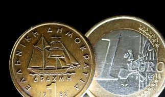 So sieht sie aus - die griechische Drachme. Eine Rückkehr zur alten Währung würde Griechenland einiges kosten, wäre aber auch eine Chance. (Foto)