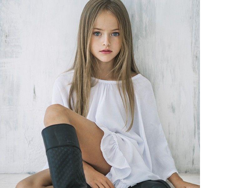 Sollten diese Bilder verboten werden?: 8-jähriges Model