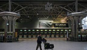 So gut wie nichts geht mehr auf dem Flughafen von Lissabon. (Foto)