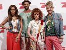 So sieht sie aus, die Jury der Casting-Show Popstars: Senna Guemmour (v.l.), Detlef D! Soost, Lucy Diakowska und Ross Antony. (Foto)