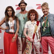 So sieht sie aus, die Jury der Casting-Show Popstars: Senna Guemmour (v.l.), Detlef D! Soost, Lucy Diakowska und Ross Antony.