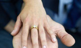 So in etwa könnte es aussehen, wenn Sultan Kösen und seine Freundin einmal heiraten. (Foto)