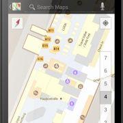 So sieht der Münchner Flughafen bei Google «Indoor-Maps» aus.