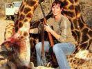 So präsentierte sich die Giraffen-Mörderin bei Facebook. (Foto)