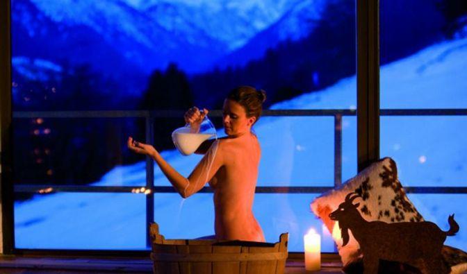 So schön wie Cleopatra: Wellness mit Milch (Foto)