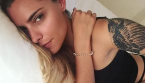 So sexy zeigte sich Sophia Thomalla bei Instagram. (Foto)