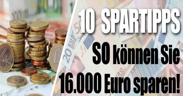 tipps zum geldsparen so sparen sie euro im jahr. Black Bedroom Furniture Sets. Home Design Ideas