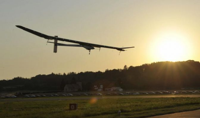 Solarflugzeug legt 6000 Kilometer ohne Kerosin zurück (Foto)