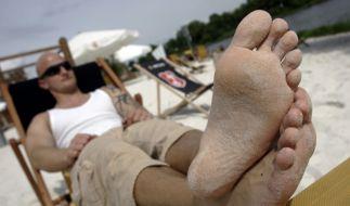 Sommerfitte Füße (Foto)