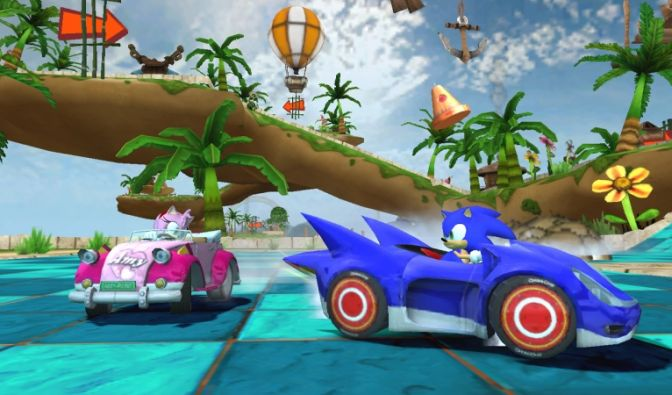 Sonic & Sega All-Star Racing (Foto)