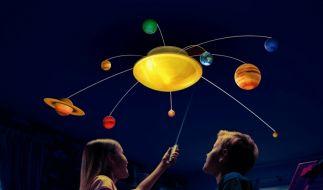 Sonnensystem für das Kinderzimmer (Foto)