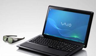 Sony rüstet Notebook mit 3D-Display aus (Foto)