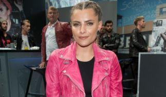 Sophia Thomalla bei der Fashion Week in Berlin. (Foto)