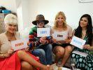 Sophia Wollersheim, Barbara Engel, Annica Hansen und Tanja Tischewitsch: Jede Promi-Dame muss ein anderes Element mit ihrem Outfit darstellen. (Foto)
