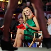 Sorgte mit einem tiefen Einblick für Aufsehen: Trug Heidi Klum etwa keinen Slip bei der Eröffnung ihrer Show Projekt Runway.