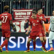 FC Bayern München siegt in der Verlängerung! (Foto)