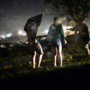 Verletzte bei Musikfestival, Personenzug entgleist - Erdrutsch! (Foto)