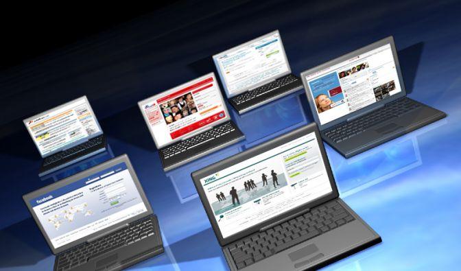 Soziale Netzwerke (Foto)