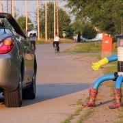 Soziales Experiment: Kann ein Roboter trampen? (Foto)