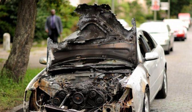 Sozialneid: Berliner gesteht Anschlagsserie auf Autos (Foto)