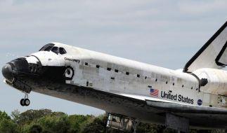 Space Shuttle bekommen irdische «Ruhestätten» (Foto)
