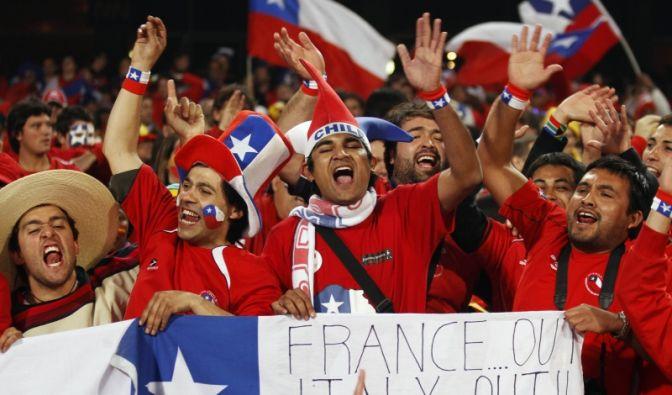 Spanien - Chile (Foto)
