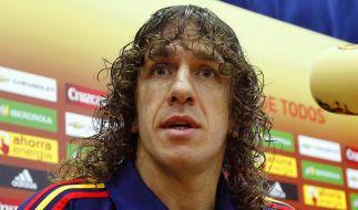 Spanien bei EM ohne verletzten Puyol - Villa fraglich (Foto)