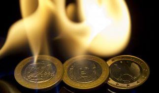 Spanien und Griechenland brennen schon. Greift durch gemeinsame Haftung der Brand auf Deutschland über? (Foto)